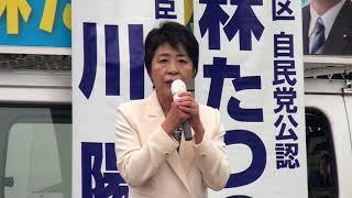 20171018川上陽子法務大臣in金谷