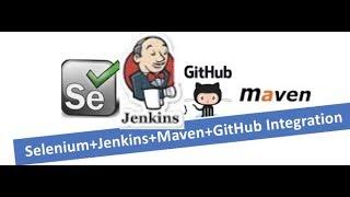 Selenium + Jenkins + GIT Integration : Run your Test Cases from GIT Hub using Jenkins