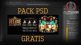 PACK DE PORTADAS DE FACEBOOK EN PSD GRATIS 2017