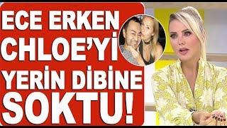 Ece Erken'den Serdar Ortaç'ın eski eşi  Chloe hakkında olay yaratacak sözler!
