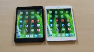 Review Comparativo: iPad mini x iPad mini Retina