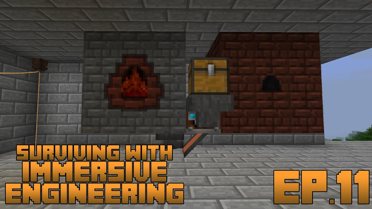 Surviving With Immersive Engineering :: Ep 11 - Automatic Steel Production