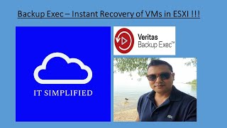 Veritas Backup Exec16 -Instant Recovery(How to Instantly Recover VMs in ESXI?)