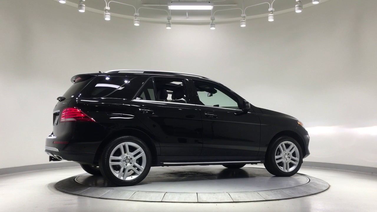 2017 Mercedes-Benz ML350 - L850724 - YouTube