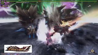 【MHF-Z】極吼雷狼龍 - 自嗨影片