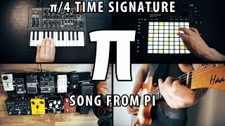a song from pi   π4 time signature melody of pi