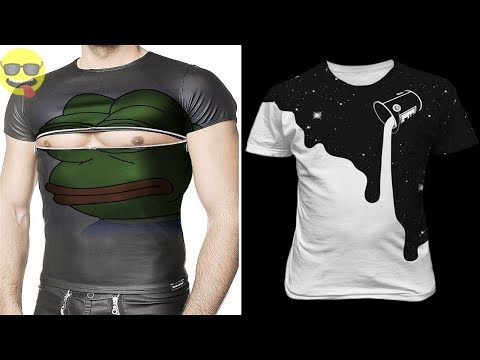 Funny and Creative Ideas for T shirts