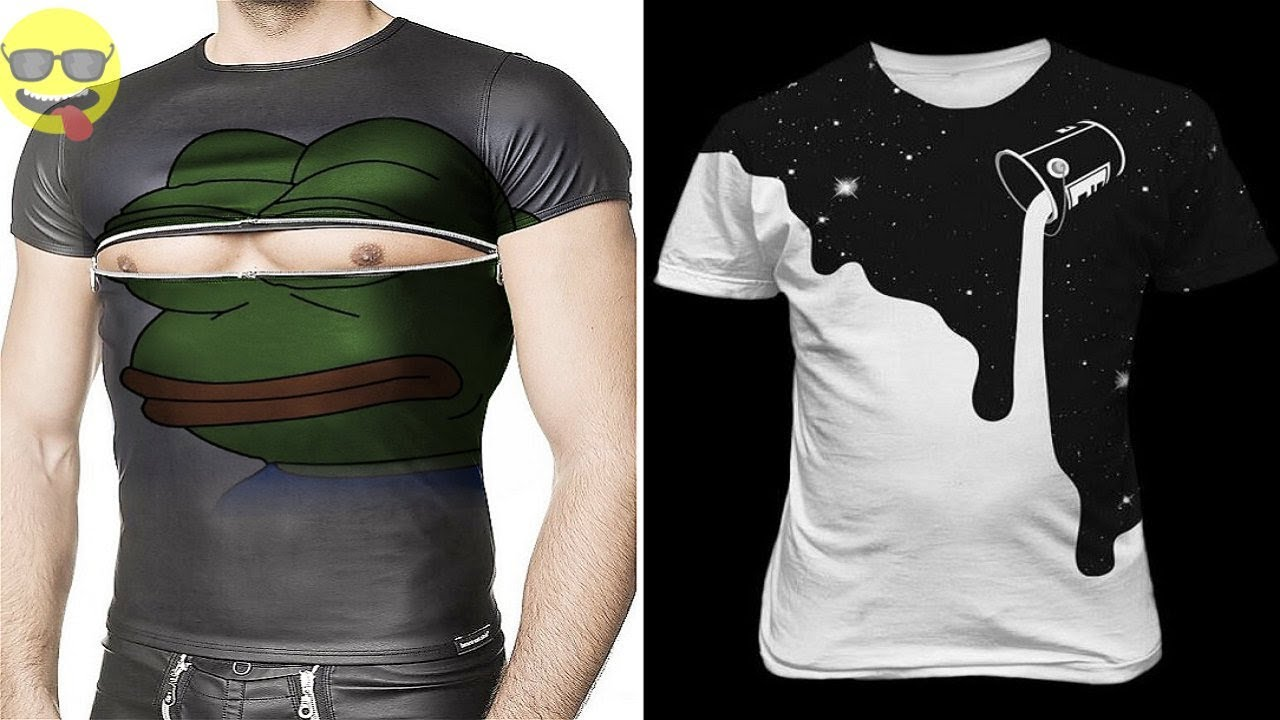 Funny and Creative Ideas for T shirts - YouTube