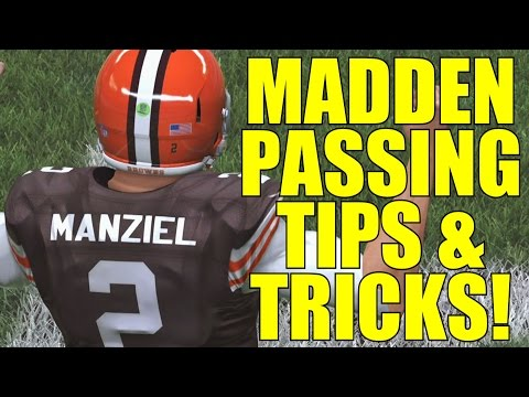 Madden NFL 15: Quarterback and Passing Tips! (Become A Better Passer)