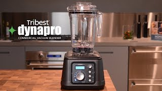 The New Tribest Dynapro Commercial Antioxidation Vacuum Blender