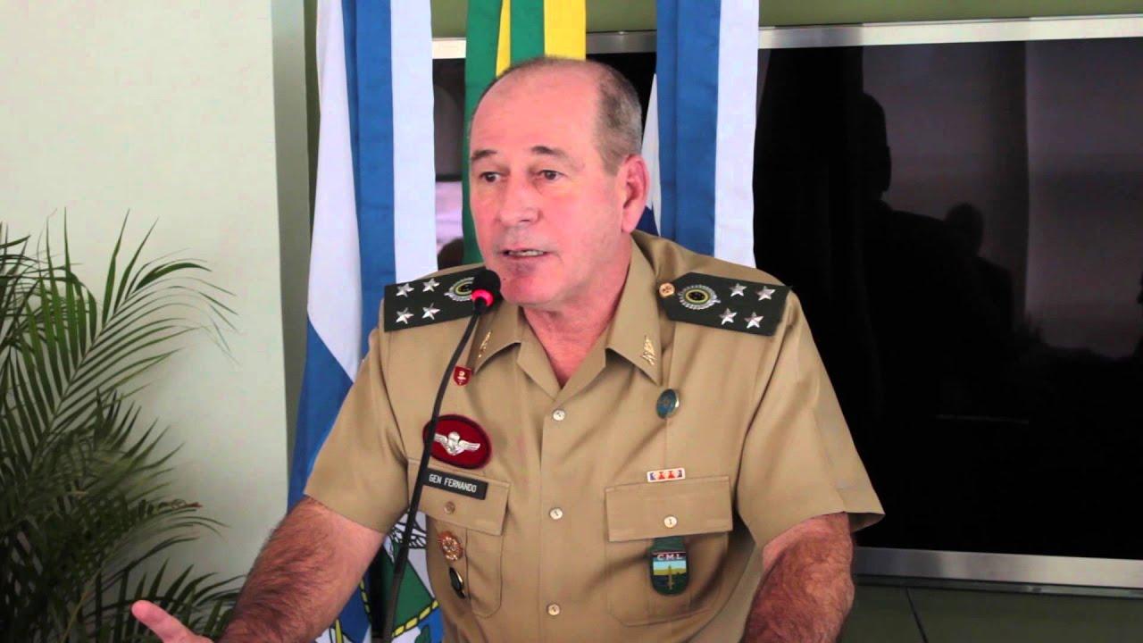Discurso do General de Exército, Fernando Azevedo, Comandante militar do  Leste - YouTube
