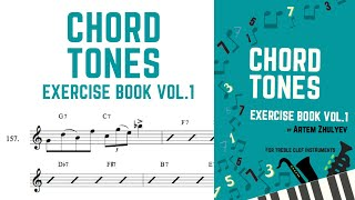 Chord Tones  Exercise Book (for Treble Clef Instruments) practice routine