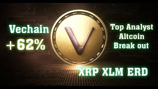 Analyst Says Altcoin Breakout Imminent, #VET on FIRE #XRP #ERD #XLM # 4TH JULY BULLISH SHOW