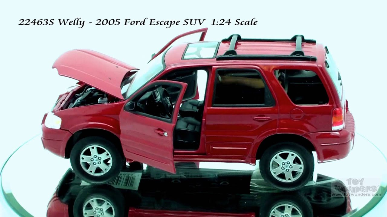 S Welly Ford Escape Suv 124 Scalecast