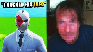 HACKER EXPOSES CHILD PREDATOR SECRET IDENTITY (Fortnite)