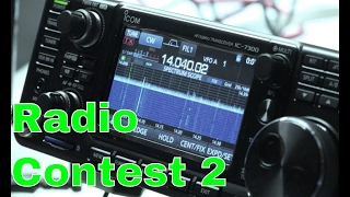 ham radio contest   mo qso party   ic 7300   video 2 of 3