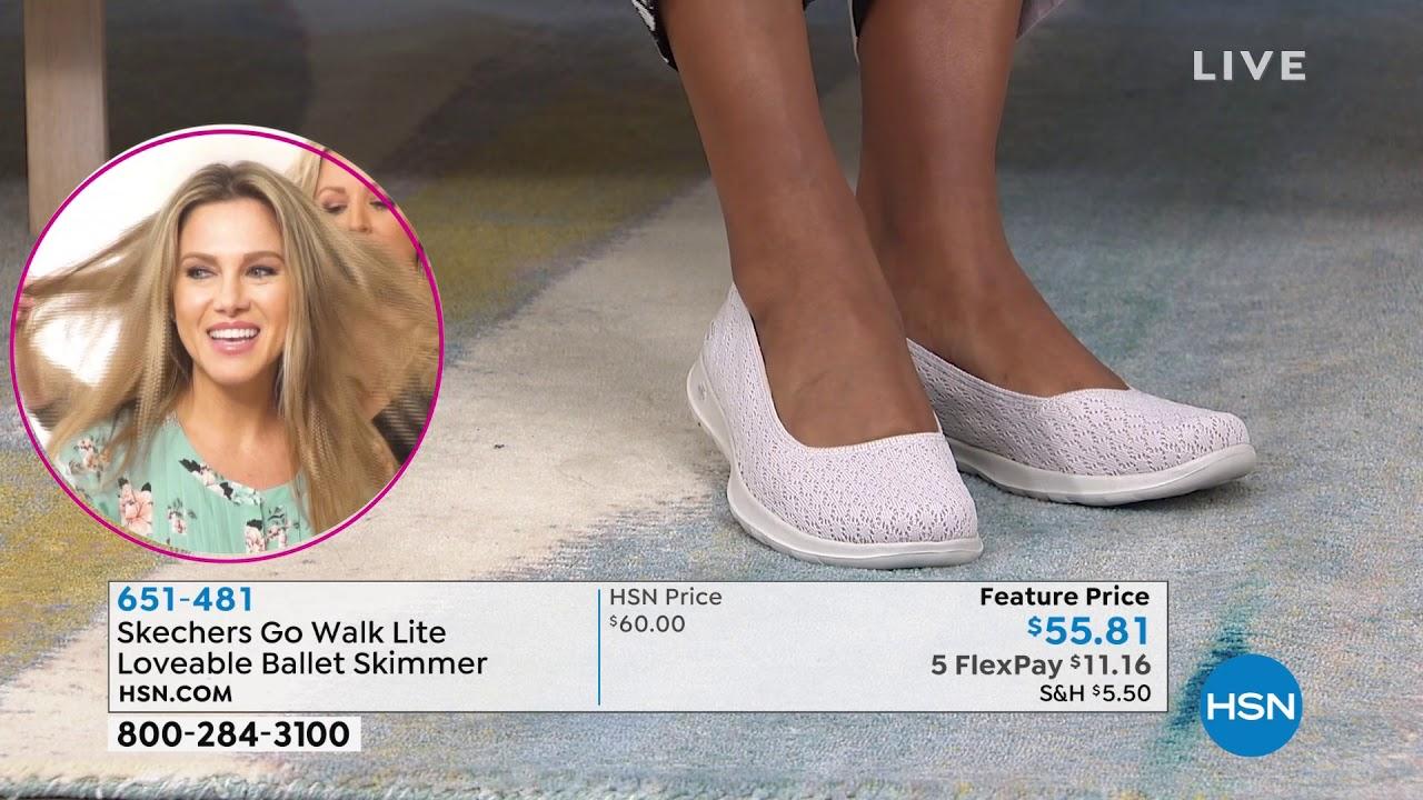 Skechers Go Walk Lite Ballet Skimmer