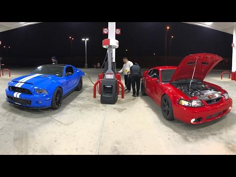 1,200HP TT GT500 vs 900hp 4.0L Whipple Cobra