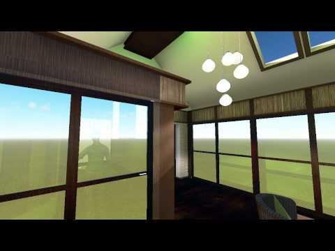Спальня в японском стиле от Дизайн- студии  Град СО  г. Калининград