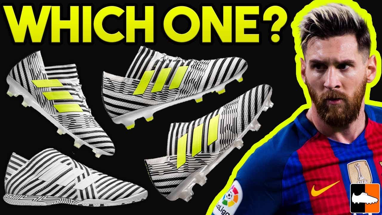 17e3010fa Which Nemeziz is FOR YOU  adidas Messi Boots Compared. Football Boots
