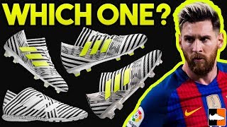 Which nemeziz is for you? adidas messi boots compared