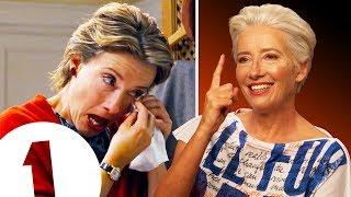 """Don't sigh, don't cry!"" Emma Thompson on THAT Love Actually scene, Harry Potter and Late Night."