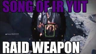 Song of Ir Yut [Crotas End Raid Weapon] - Heavy Machine Gun