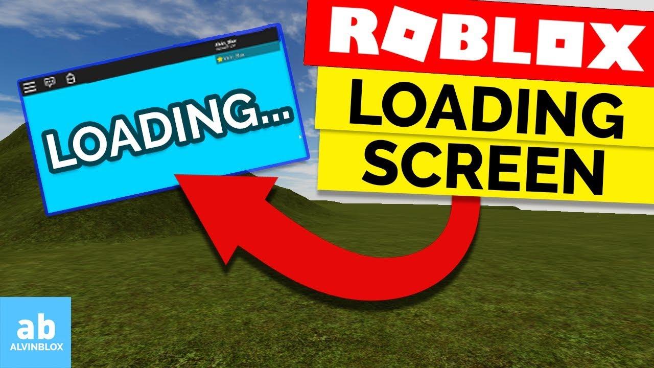 Roblox Loading Screen Tutorial Read Description Youtube