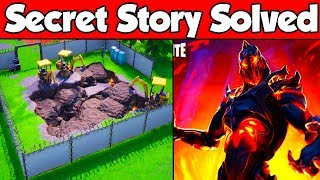 "NEW Fortnite SECRET Storyline SOLVED! The TRUTH About ""Ruin"" (Season 8 Dig Site)"