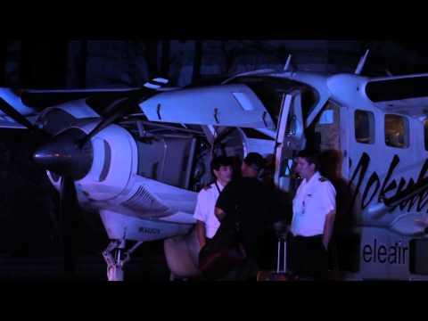 Mokulele Airlines Emergency Landing on Highway