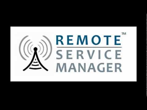 Remote Service Manager for e-automate(TM)