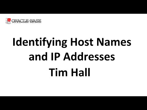 Identifying Host Names and IP Addresses in SQL and PL/SQL using Built-in  Oracle Functionality