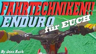 ENDURO! FahrTECHNIK für euch! - Jens Kuck