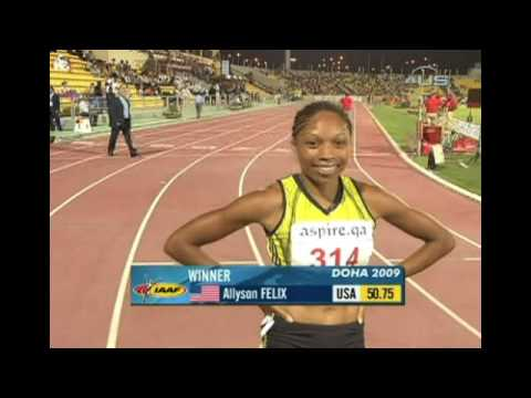Felix wins 400m in Doha again from Universal Sports