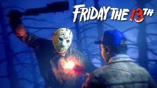ВОЛЧОНОК СПАСАЕТ СВОЙ ХВОСТИК ОТ ДЖЕЙСОНА! - Stream Friday the 13th: The Game
