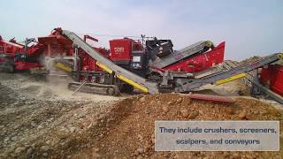 Video still for Terrafirma  Aggregate Equipment
