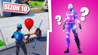 Fortnite: The Secret map Change, the new hidden skins.. (Women's Galaxy, new bald..)