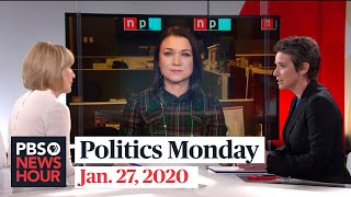 Tamara Keith and Amy Walter on impeachment trial witnesses, Iowa polls