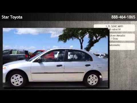 2005 Honda Civic VP Automatic Sedan   Houston