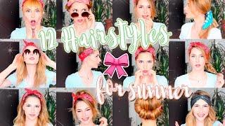 видео Как красиво завязать платок на голову: идеи стильных причесок на лето