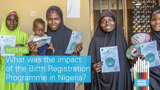 #BOURE2020: What was the impact of the Birth Registration Programme in Nigeria?
