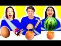100 WAYS TO BREAK EGGS CHALLENGE by Ideas 4 Fun