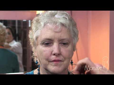 Lindsay 1: Monave Natural, Organic Mineral Makeup for a Mature, Caucasian Woman