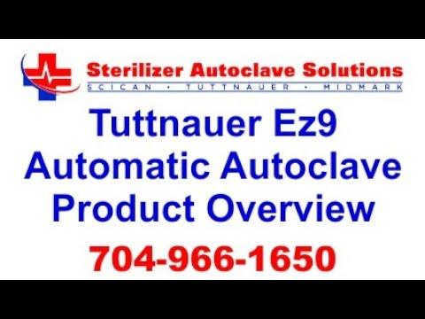 tuttnauer ez9 automatic autoclave product overview