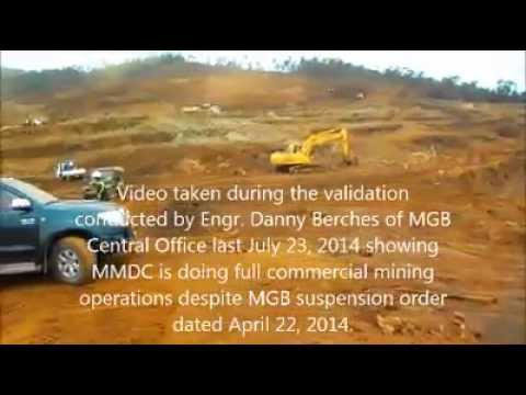 MGB inspection exposes Marcventures' mining activities amid suspension