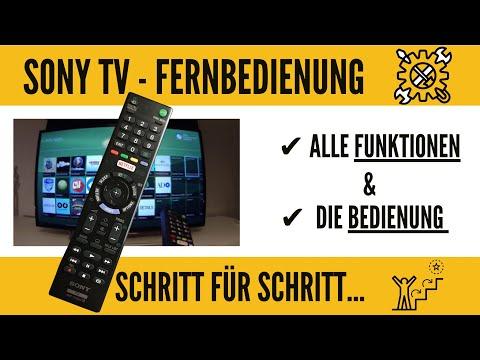 Sony Smart Tv Alle Funktionen Der Fernbedienung Ganz Einfach