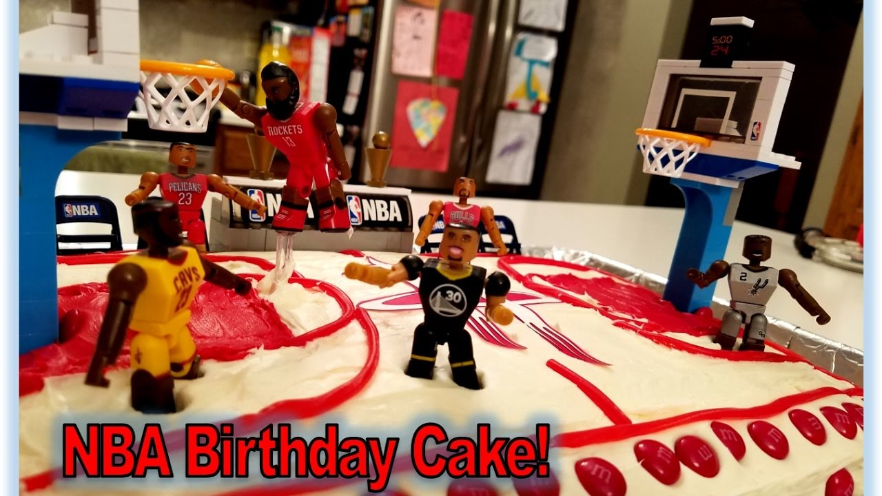 Houston Rockets NBA Birthday Cake