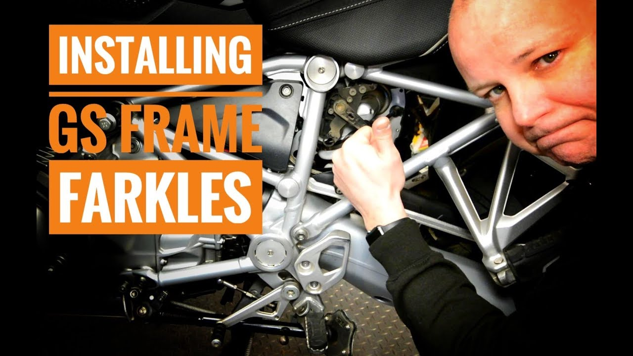 b2b1473c2565 How to install Hornig frame covers on the BMW R1200GS - YouTube