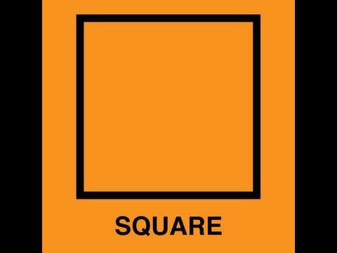 Square Song (Learn Squares for Kids - Classic Video)