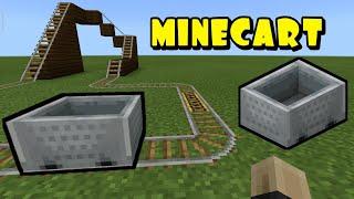 Gambar cover Minecart v2 | My Pocketmine Server Plugin | Minecraft PE/BE 1.5.0 - 1.14.0 | [Review]